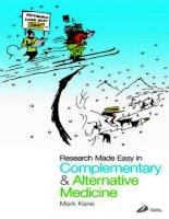Research Made Easy in Complementary and Alternative Medicine pot
