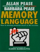 MEMORY LANGUAGE how to develop powerful recall in 48 minutes