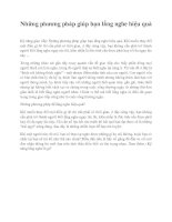 Những phương pháp giúp bạn lắng nghe hiệu quả pdf