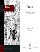Dracula activity book