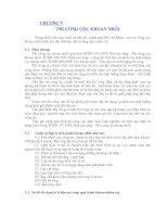 Chương V: Thi công cọc khoan nhồi pdf