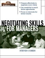 business negotiating skills for managers management mba pdf