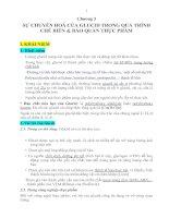 Chương 5: SỰ CHUYỂN HOÁ CỦA GLUCID TRONG QUÁ TRÌNH CHẾ BIẾN & BẢO QUẢN THỰC PHẨM doc