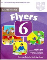 Cambridge English: Flyers 6