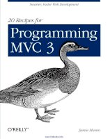 20 Recipes for Programming MVC 3 docx