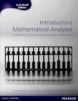 Ứng dụng toán học để phân tích lợi nhuân trong kinh tế, kinh doanh, trong đời sống  và khoa học xã hội