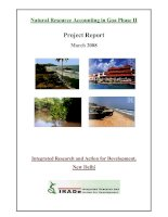 Natural Resource Accounting in Goa Phase II: Integrated Research and Action for Development, New Delhi doc