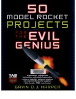 model rocket projects for the evil genius