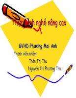 Kế hoạch kinh doanh:Quán Cơm Quê Hương docx