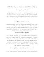 22 thủ thuật chụp ảnh đêm cho người mới bắt đầu (phần 2) pdf
