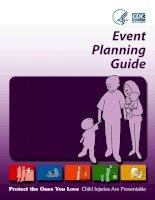 Event Planning Guide Child Injuries Are Preventable Protect the Ones You Love doc