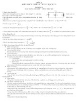 Đề cương ôn tập thi kì II môn vật lý lớp 12