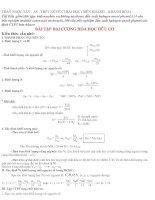 Bài tập tổng hợp hoá hữu cơ lớp 11 pptx