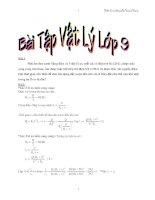 Bài tập vật lý lớp 9 docx
