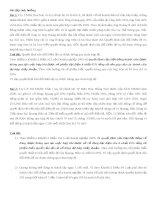 bài tập tình huống luật kinh tế