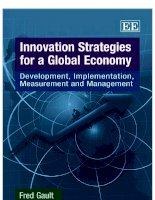 innovation strategies for a global economy ppt