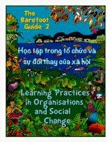 the bare foot guide 2 - học tập trong sự tổ chức và sự đổi thay của xã hội