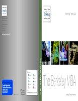 The Berkeley MBA Full-time MBA Program 2013 ppt