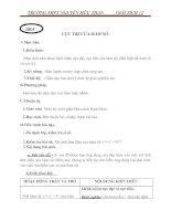 giáo án toán giải tích 12 - cực trị hàm số - gv.b. anh tuấn