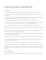 Lịch sử Việt Nam từ 1945 đến 1954