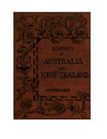 .THE HISTORY OF AUSTRALIA AND NEW ZEALAND FROM 1606 TO 1890 docx