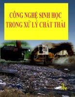 CÔNG NGHỆ SINH HỌC TRONG XỬ LÝ CHẤT THẢI doc