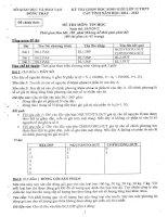 Đề thi HSG THPT lớp 12 Tỉnh Đồng Tháp môn Tin năm 2013 ppt