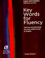 Key word for Fluency pot
