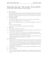 TCVN 6160 - 1996 Phòng cháy CHỮA CHÁY cho nhà cao tầng , yêu cầu THIẾT KẾ