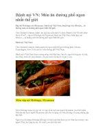 Bánh mỳ Việt Nam: Món ăn đường phố ngon nhất thế giới pot