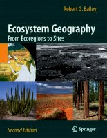 Ecosystem Geography From Ecoregions to Sites pdf