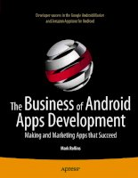 apress the business of android apps development, making and marketing apps that succeed (2011)