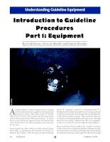 Introduction to Guideline Procedures Part 1: Equipment docx