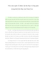 Nêu cảm nghĩ về nhân vật lão Hạc và ông giáo trong bài Lão Hạc của Nam Cao pdf