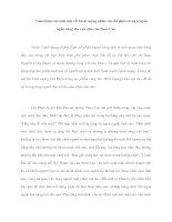 Cảm nhận của anh (chị về) hình tượng nhân vật chí phèo trong truyện ngắn cùng tên của nhà văn Nam Cao pptx