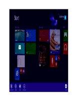 Những tính năng mới không phải ai cũng biết của Windows 8.1 pptx