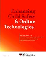 Enhancing Child Safety & Online Technologies: FINAL REPORT OF THE INTERNET SAFETY TECHNICAL TASK FORCE pot