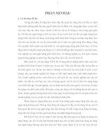 Đề tài: KIỂM ĐỊNH CÁC NHÂN TỐ ẢNH HƯỞNG ĐẾN HOẠT ĐỘNG TÍN DỤNG TẠI NGÂN HÀNG NÔNG NGHIỆP VÀ PHÁT TRIỂN NÔNG THÔN VIỆT NAM, CHI NHÁNH HUYỆN VĨNH CỬU pdf