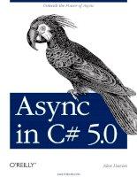 Async in C# 5.0 doc