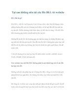 Tại sao không nên tải các file DLL từ website ppt