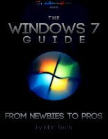 Windows 7 Guide: From Newbies to Pros - Matt Smith