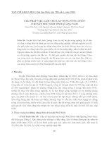 GIẢI PHÁP VIỆC LÀM CHO LAO ĐỘNG NÔNG THÔN Ở HUYỆN PHÚ NINH TỈNH QUẢNG NAM ppt