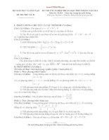 Tổng hợp 30 đề thi thử Tốt nghiệp THPT 2014 môn TOÁN HỌC