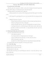 Bài giảng - Cấp nước sinh hoạt và công nghiệp (chương 5) ppt