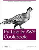 Python and AWS Cookbook pptx