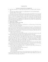 Chuyên đề 16: QUẢN LÝ NHÀ NƯỚC VỀ KINH TẾ doc