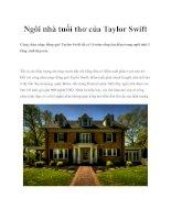Ngôi nhà tuổi thơ của Taylor Swift potx