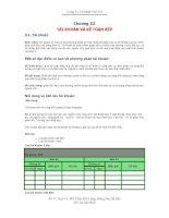 Bài giảng nguyên lý kế toán chương 3: tài khoản và kế toán kép