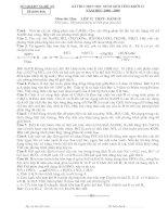 Đề thi học sinh giỏi tỉnh nghệ an môn hóa pdf
