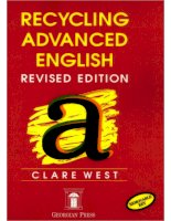 Recycling advanced english with key (revised edition) 1(2)